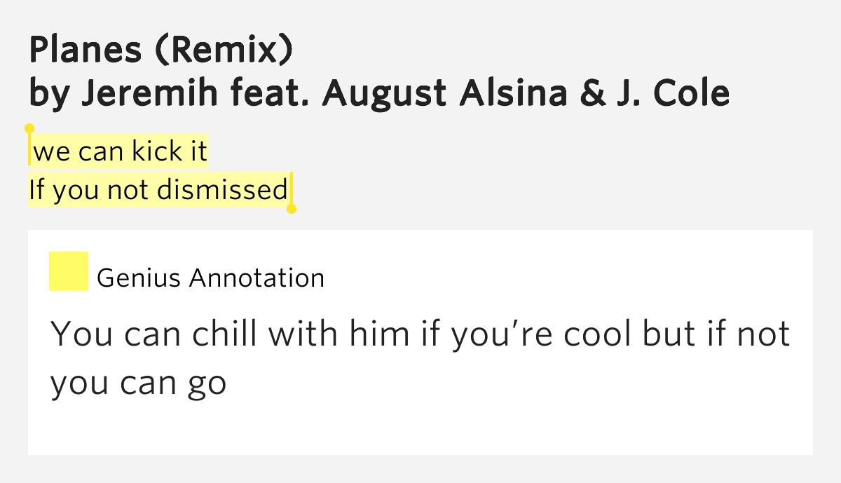 Planes August Alsina Remix Lyrics Planes August Alsina Remix Lyrics