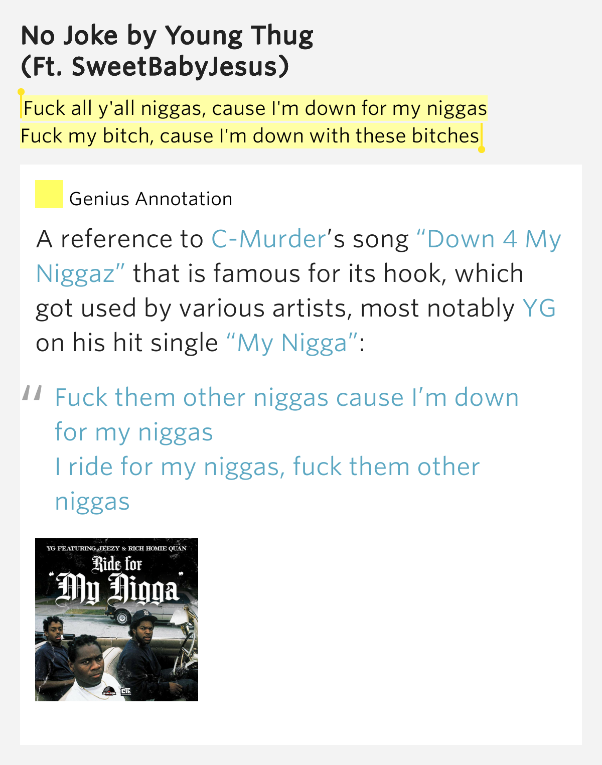 Fuck them other niggaz mp3
