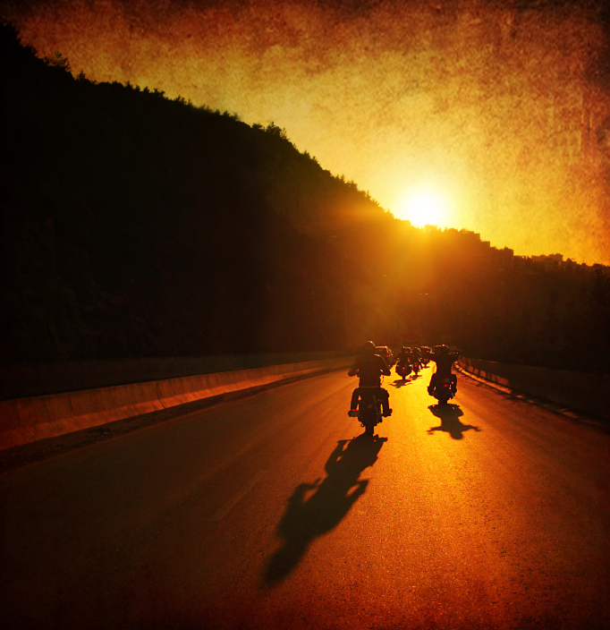 Ride the Harley into the sunset – Easy Rider by Action Bronson