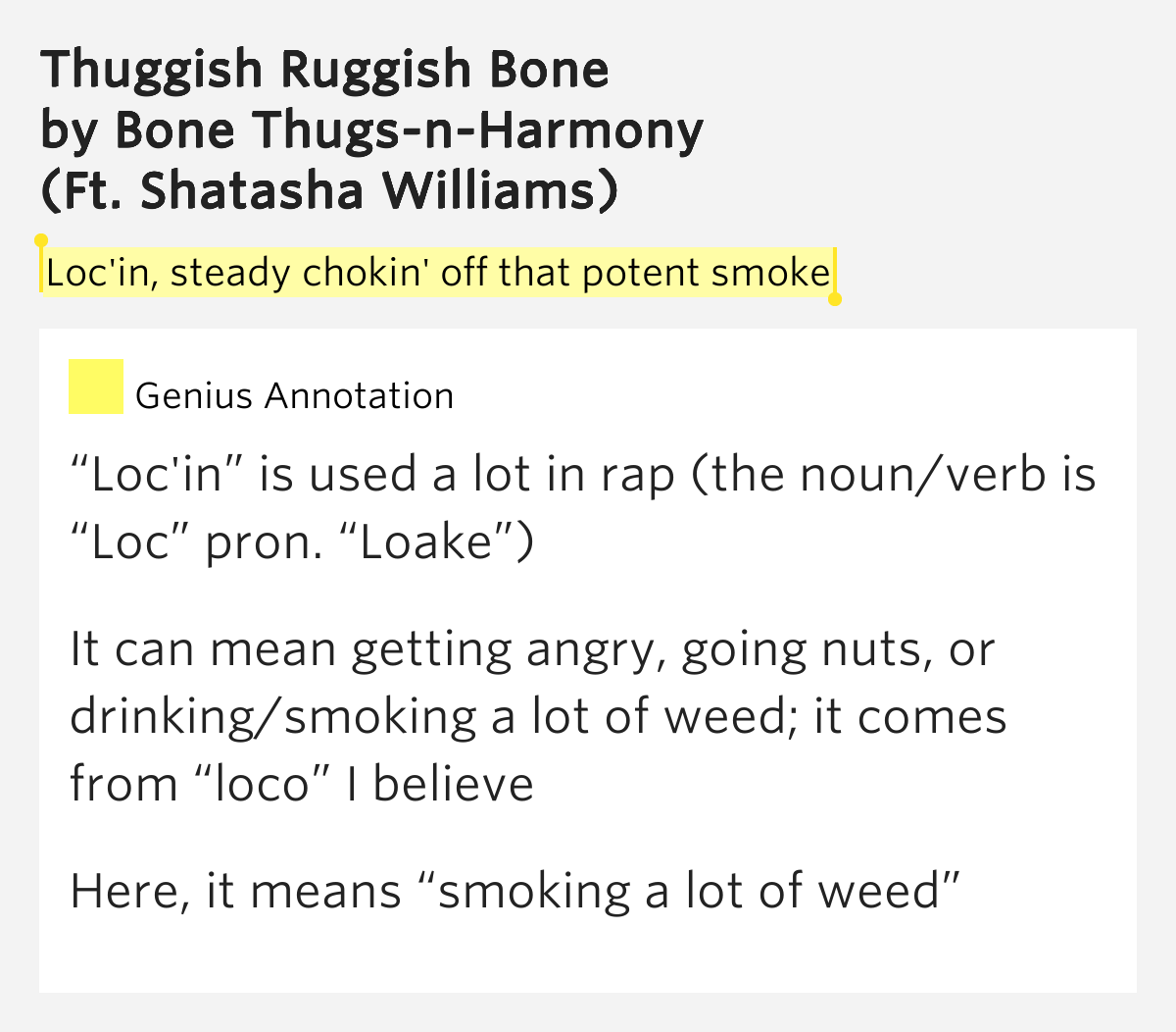 Bone Thugs N Harmony - Smoking Buddah lyrics Bone Thugs N ...