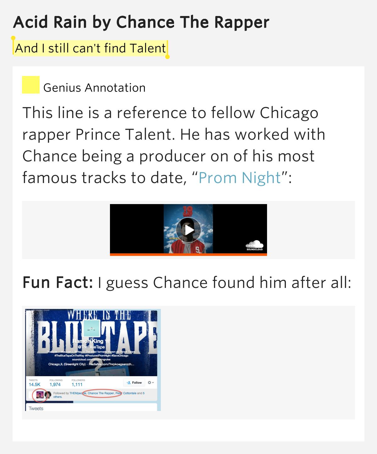 Chance The Rapper - Acid Rain - YouTube