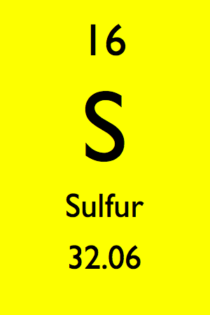 Sulfur chnops elements essential to life lessons tes teach 16 sulfur s periodic table by mister molato 3 atomic number 16 urtaz Image collections