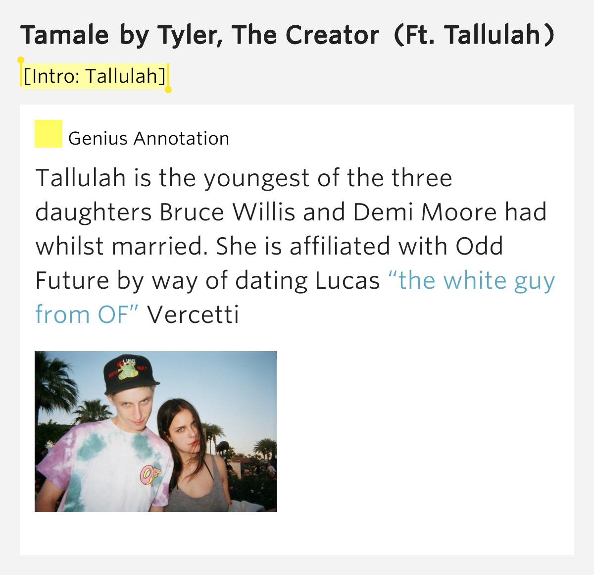 tyler the creator tamale lyrics genius lyrics - HD 1200×1161