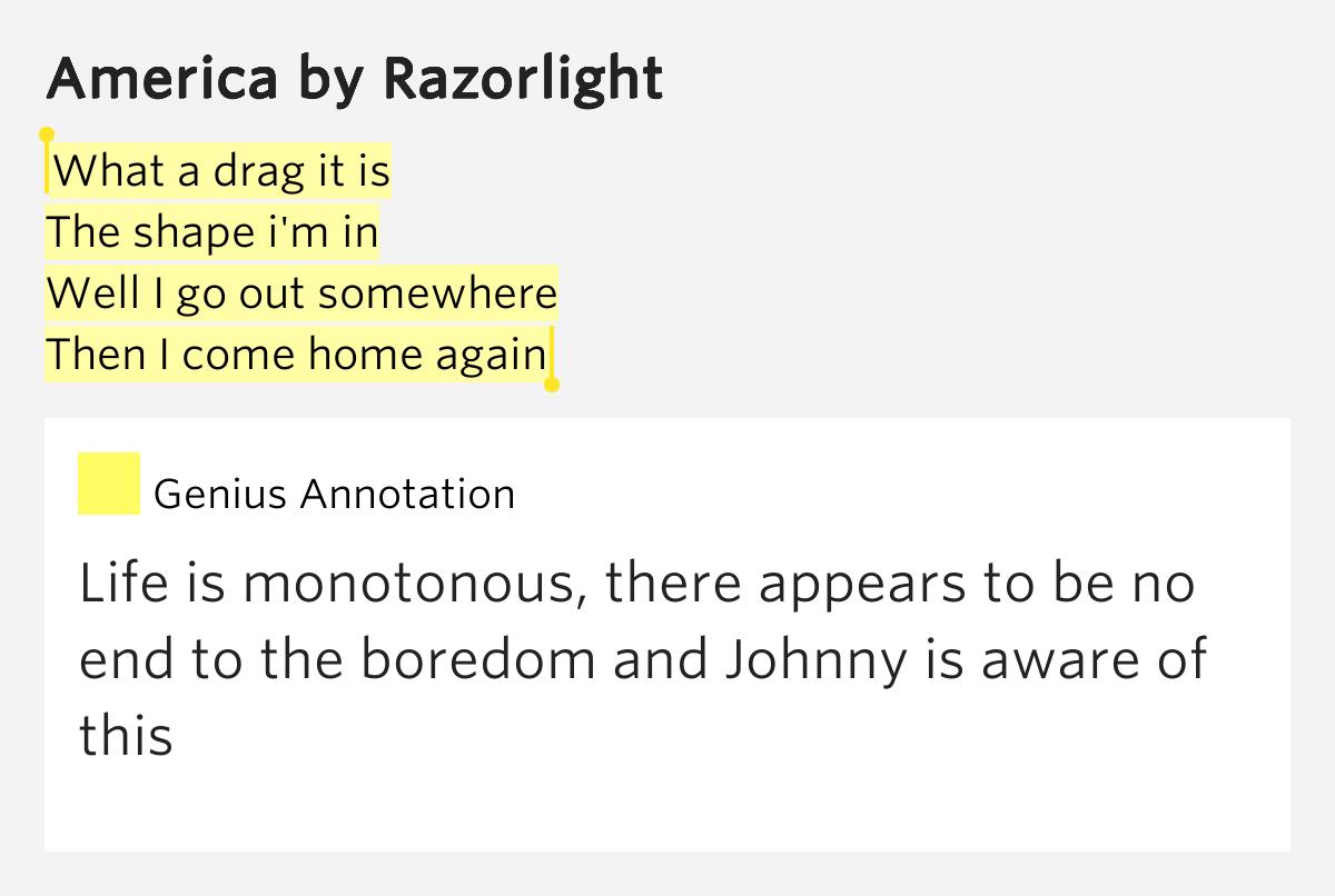America Again - Lyrics.com