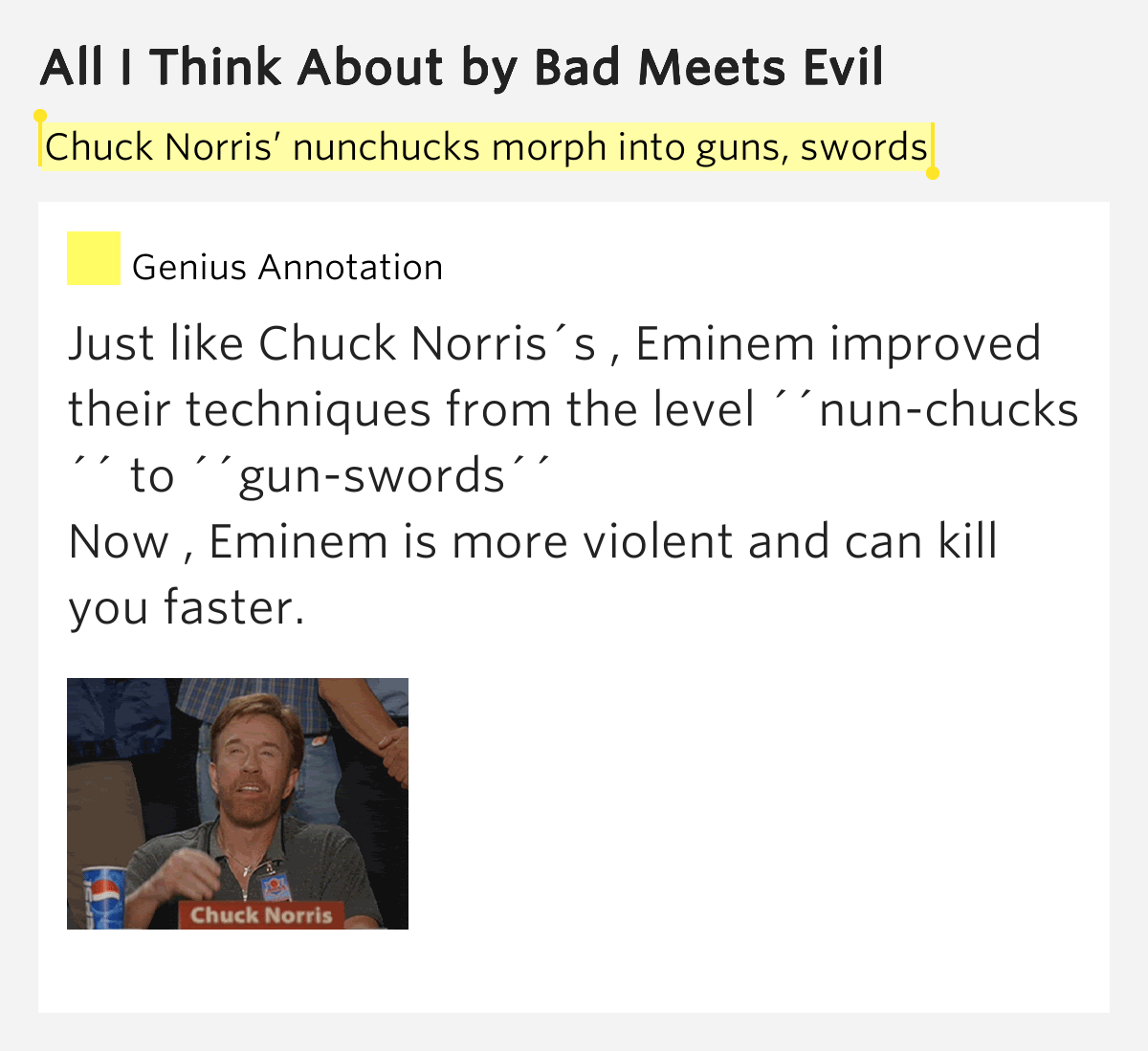List of songs by Chuck Norris - songfacts.com