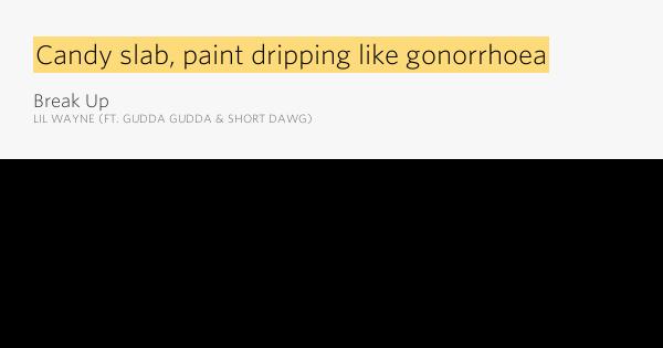 Fresh Paint Job Lyrics