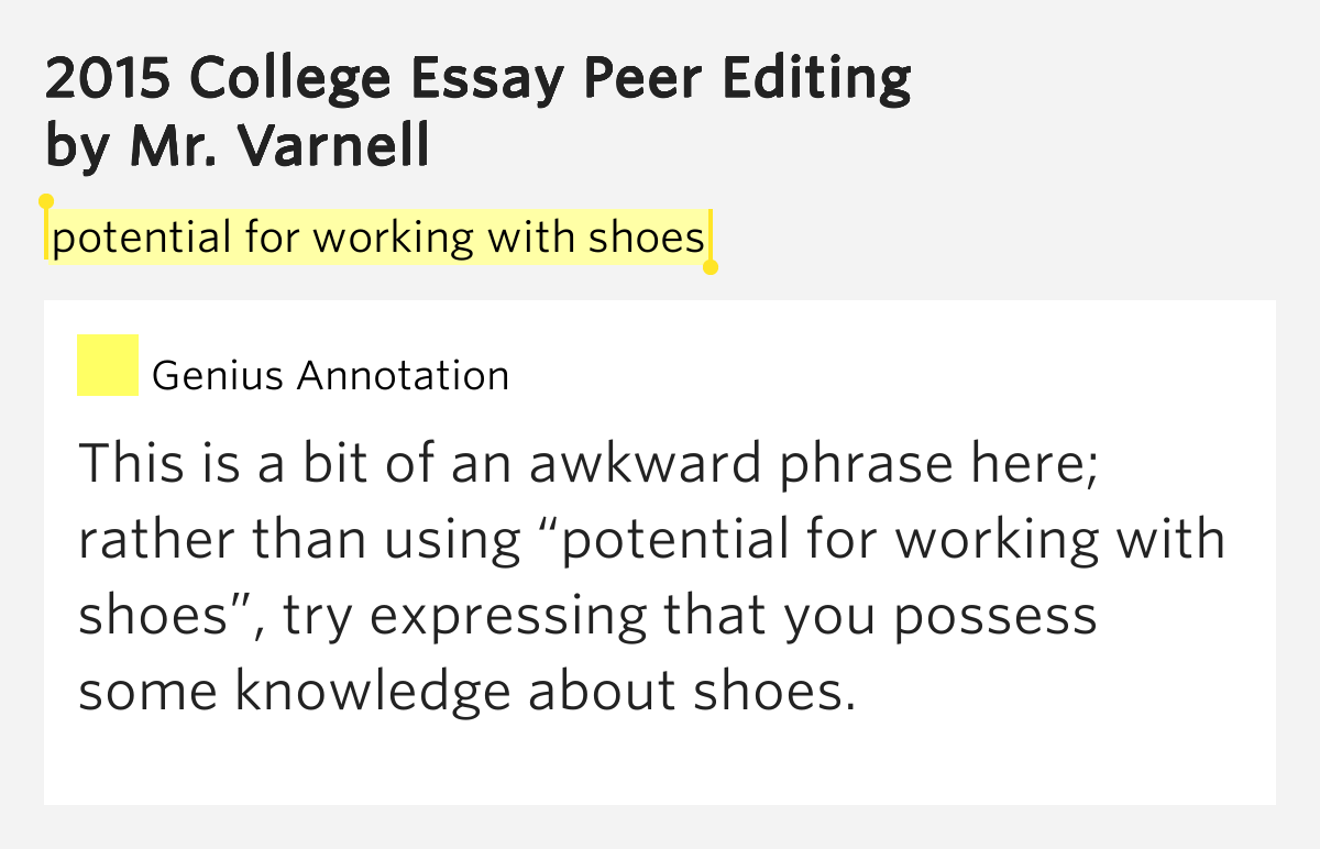 shoes college essay Categories of shoes in the united states there are many types of shoes on the market today the types of shoes range from athletic all the way to dress shoes.
