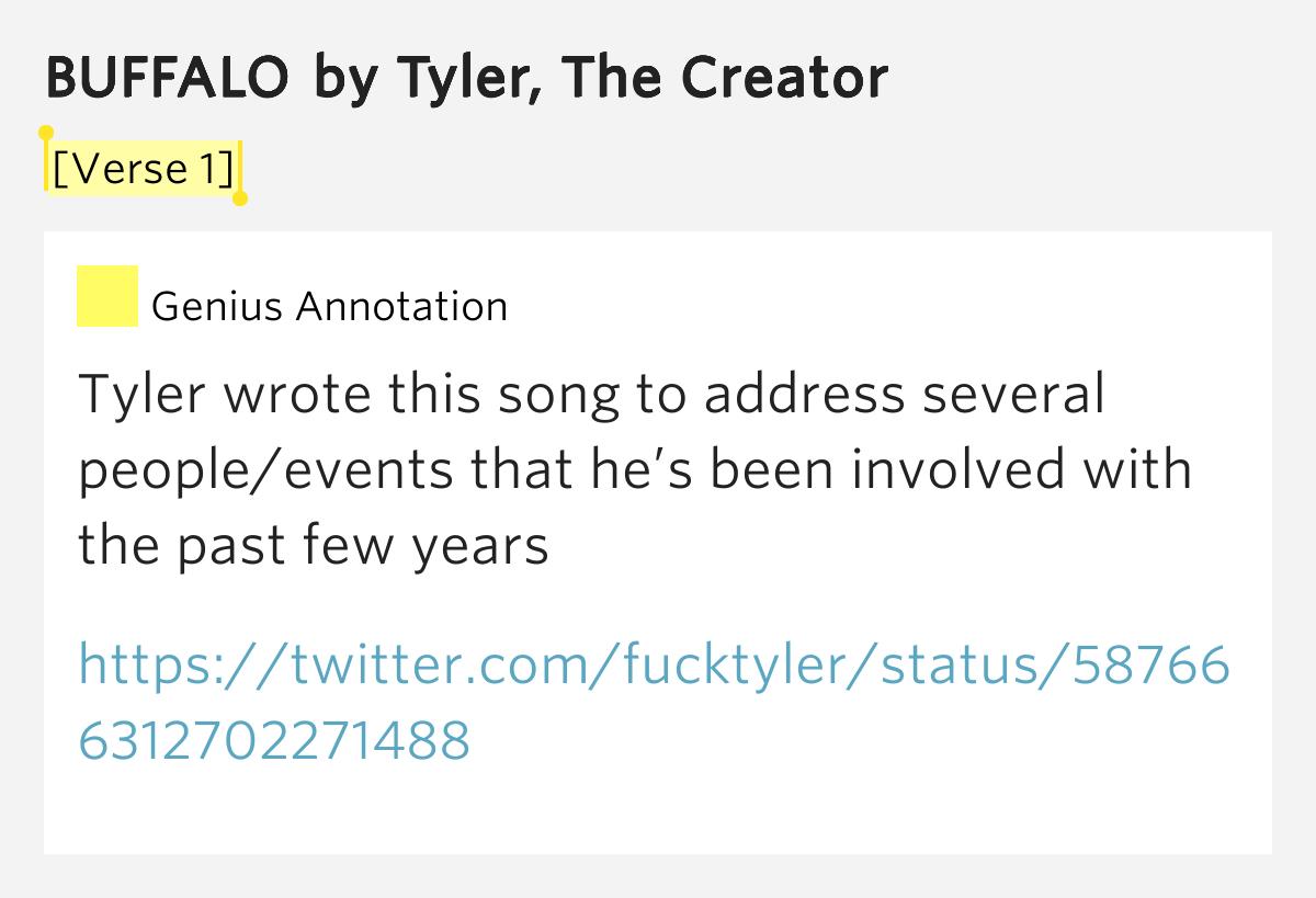 BUFFALO By Tyler, The Creator