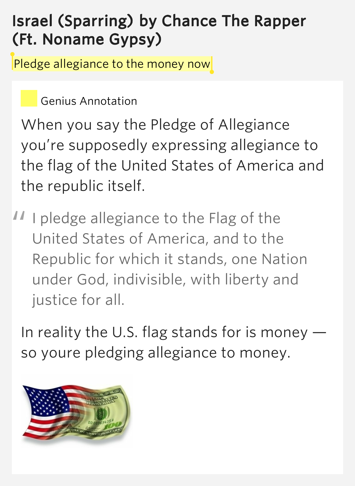 a description of the pledge of allegiance Pledge of allegiance to the state flag the pledge of allegiance to the texas state flag is honor the texas flag i pledge allegiance to thee, texas, one state under god, one and indivisible.