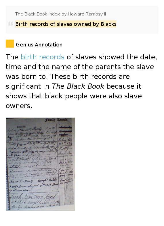 the birth of slavery in the How american slavery led to the birth of liberia: in 1820, a private american group established liberia as a colony for freed us slaves but it was troubled from the start.
