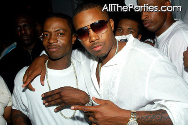 Photo of Nas & his  Brother  Jabari Fret