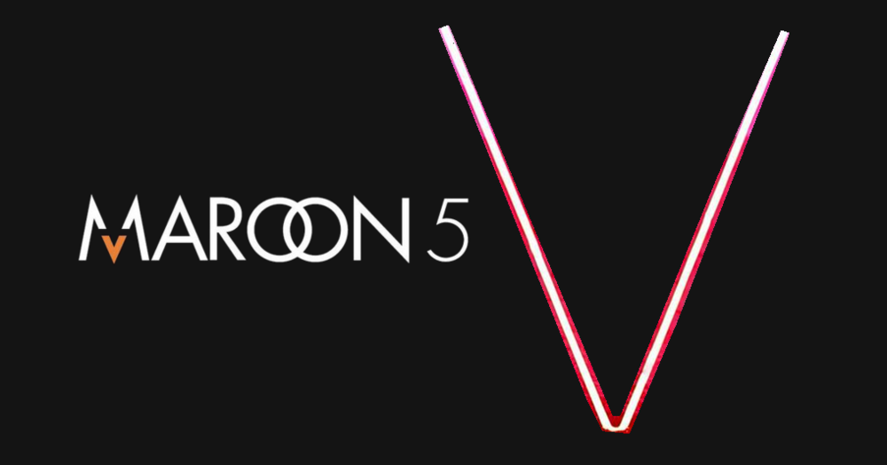 V Maroon 5 Album Cover on Maroon 5 s website  V