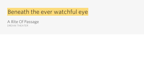 Dream Theater Home Lyrics Meaning