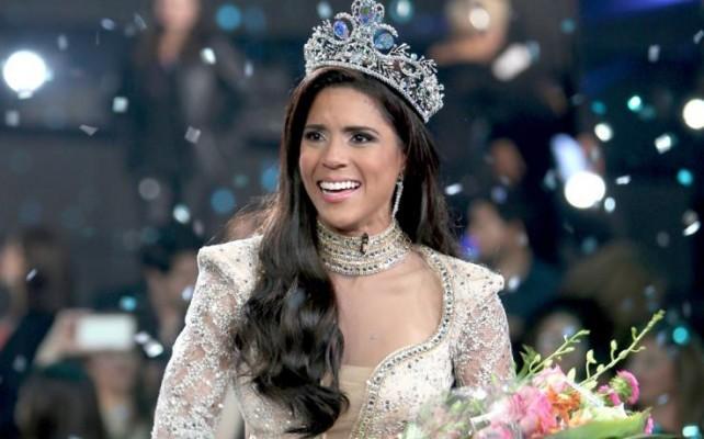 Ganadora de la belleza latina