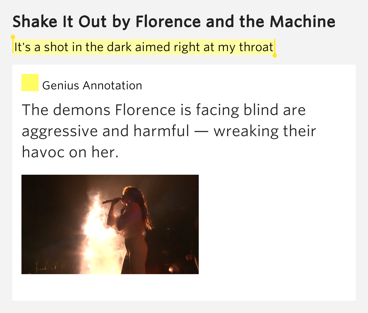 Traduzione testo Shake It Out - Florence And The Machine