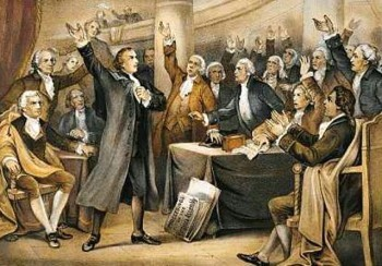 in the speech in the virginia convention patrick henry Writers of the revolution from speech in the virginia convention by patrick henry did you know patrick henry    • had 16 children—6 by his.