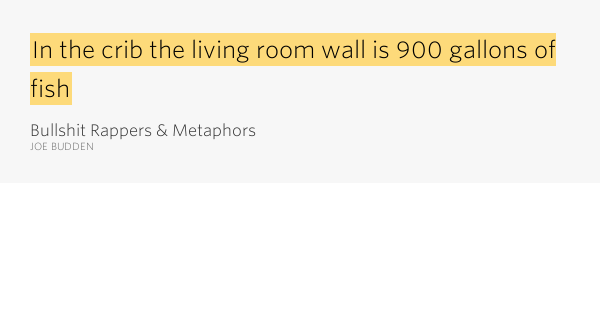 In The Crib The Living Room Wall Bullshit Rappers