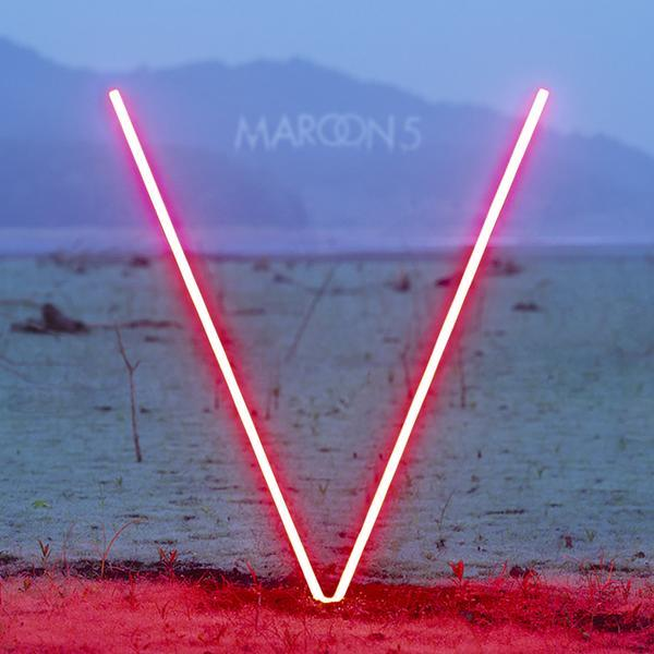 V Album Cover Maroon 5 Album Artwork