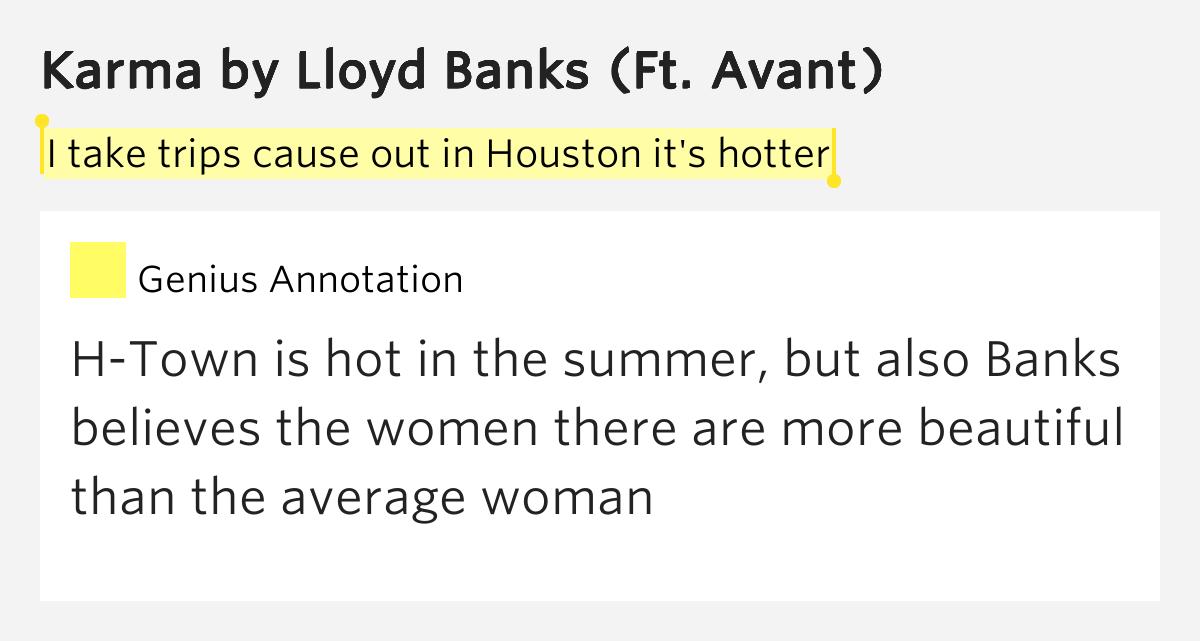 lloyd banks karma lyrics