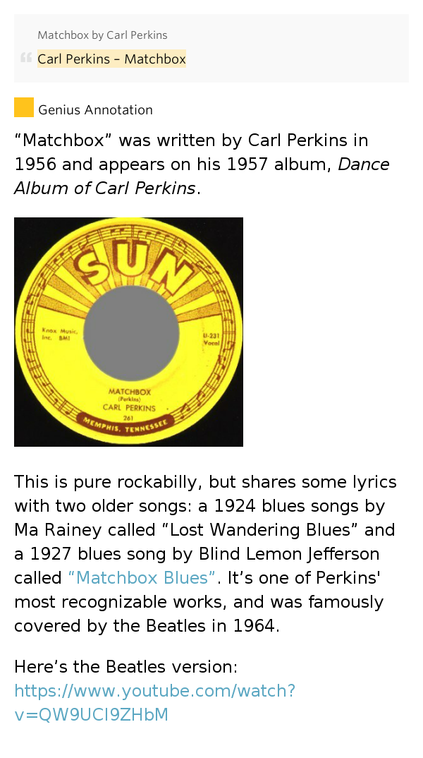 Blind Lemon Jefferson - Cat Man Blues