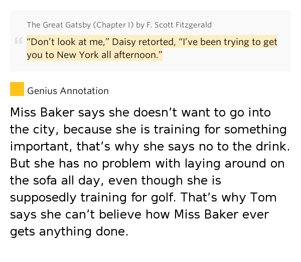 why is gatsby memorable to the Free essay: is great gatsby truly great it seems  chasers of the american  dream would love to see a happy ending for gatsby, because it will be assuring  their delusion about wealth  cramcom uses cookies to offer you the best  service.