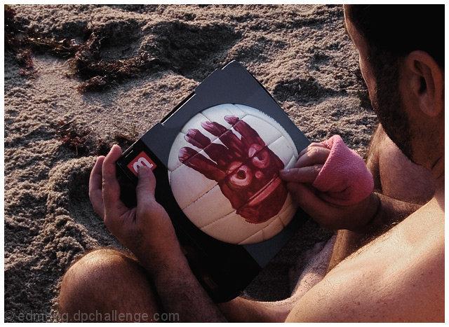 I'm ballin' like Wilson on all you herbs – Tom Hanks