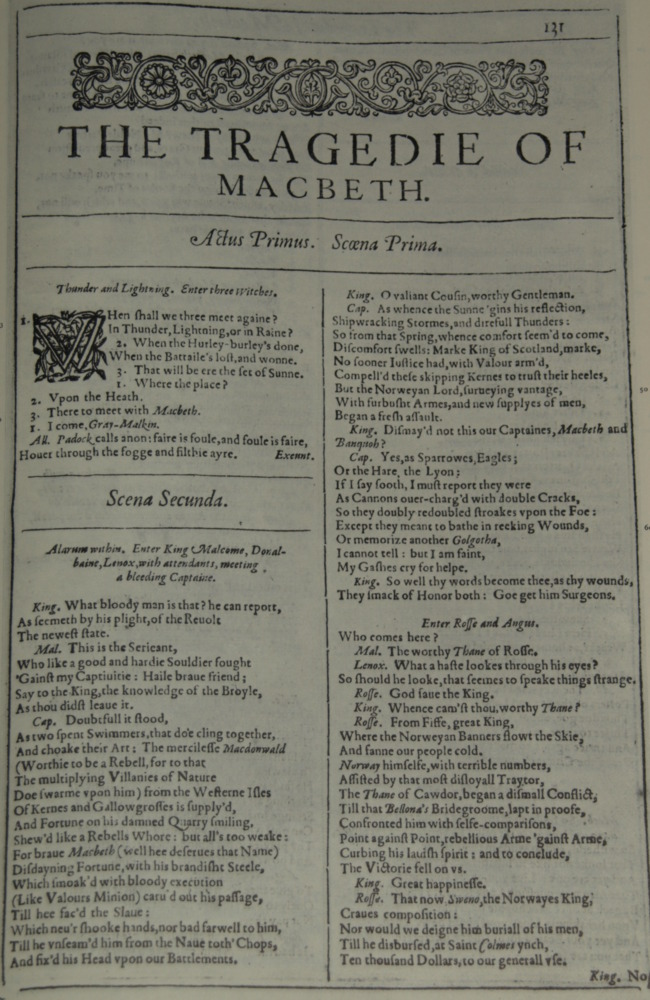 an analysis of act v scene v in macbeth by william shakespeare Analysis of scene 5 act 1 of macbeth macbeth scene character analysis major characters in act v scene i the major character that we see is lady macbeth macbeth by william shakespeare order now a.