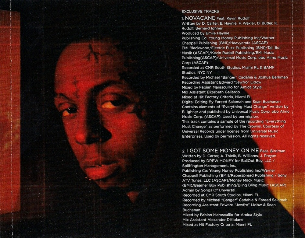 Lil Wayne - Hustler Musik / Money On