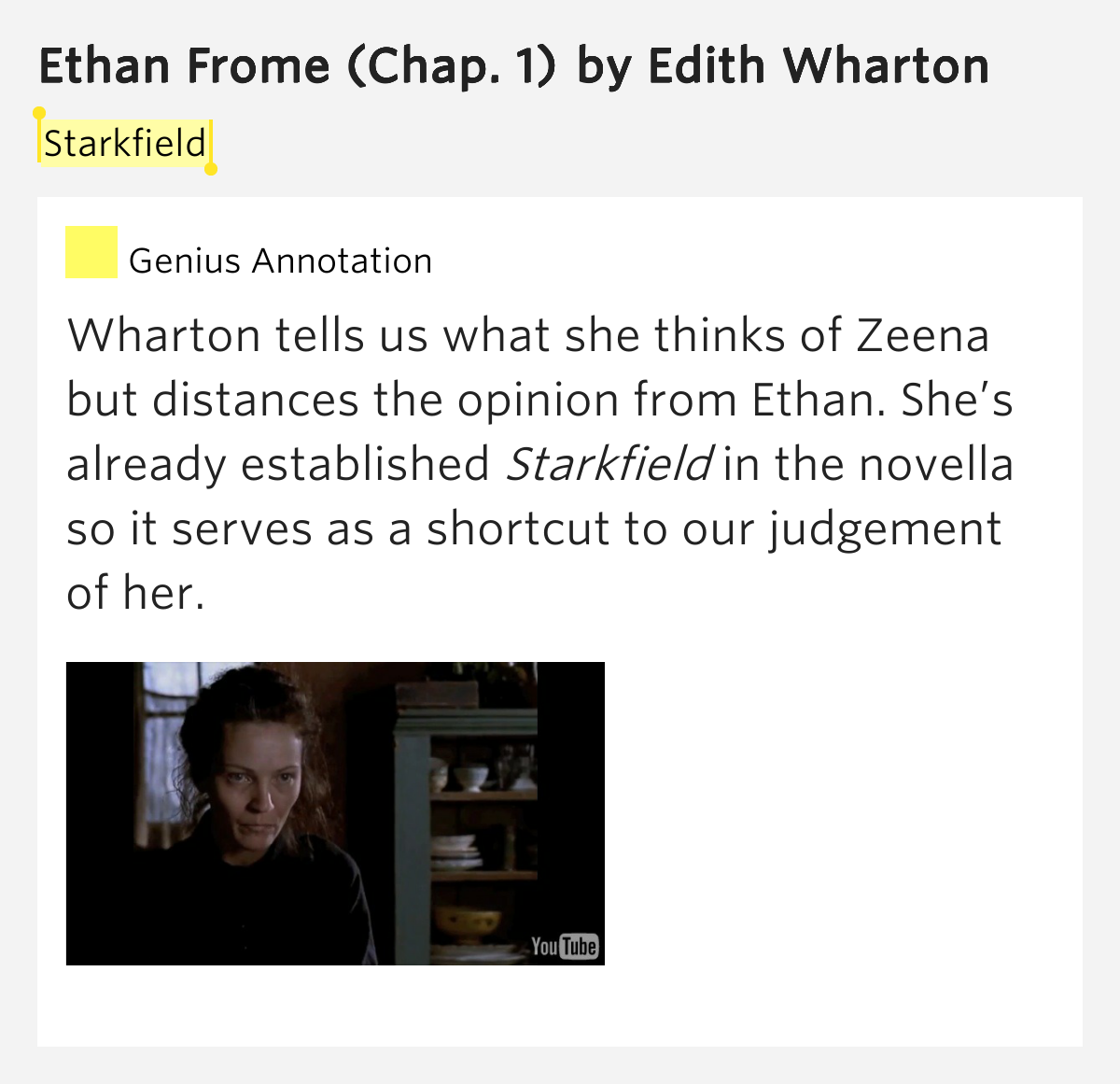 the theme of loneliness in edith whartons ethan frome Ethan frome has 91,200 ratings and 4,476 reviews brina said: because march is women's history month, i made it a point to only read women authors over t.