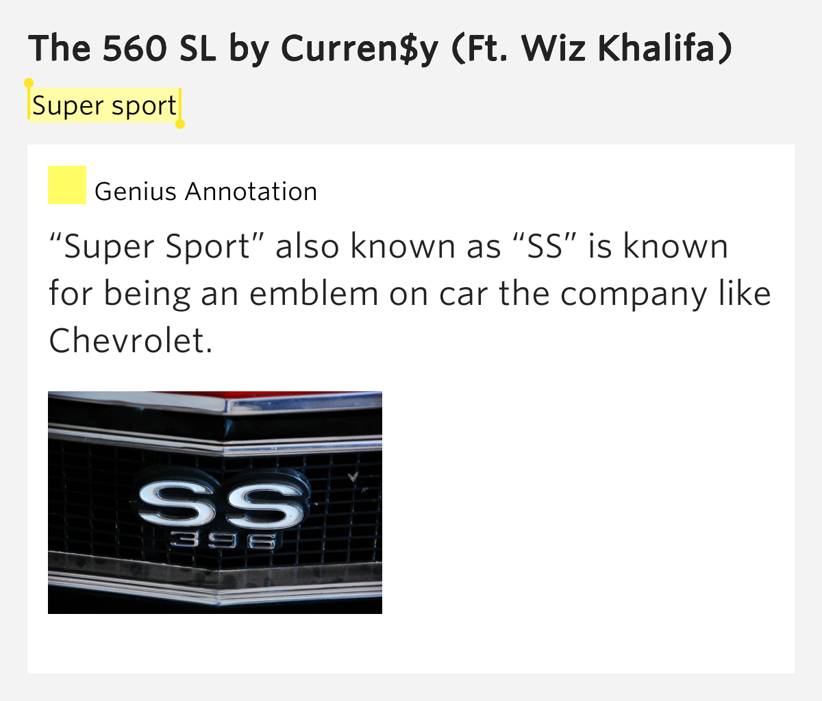 Super Sport The 560 Sl By Curren Y