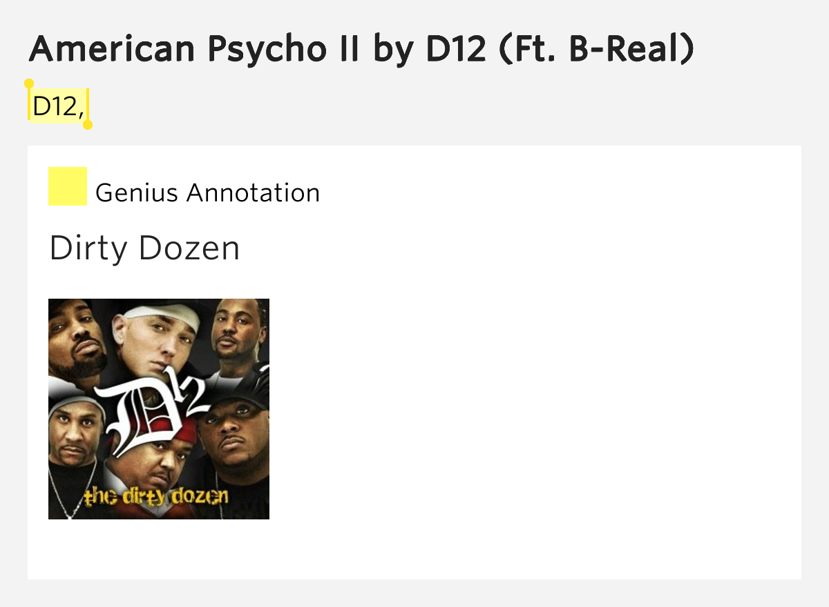 American Psycho II Lyrics Meaning