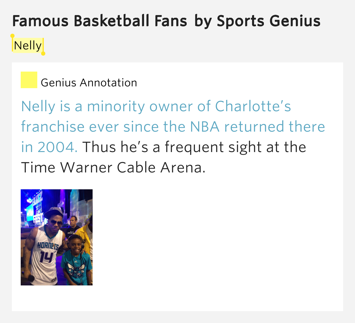 Time Warner Cable Quote: Famous Basketball Fans By Sports Genius