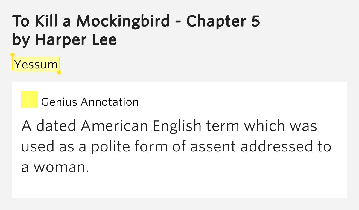 how to kill mockingbird summary