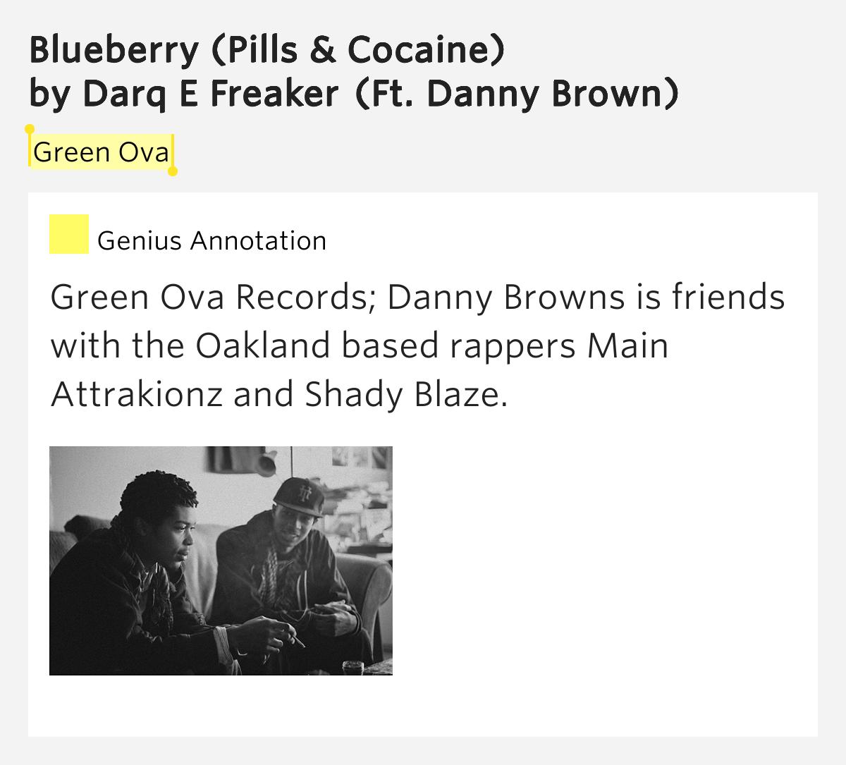 Darq E Freaker – Blueberry (Pills & Cocaine) Lyrics ...