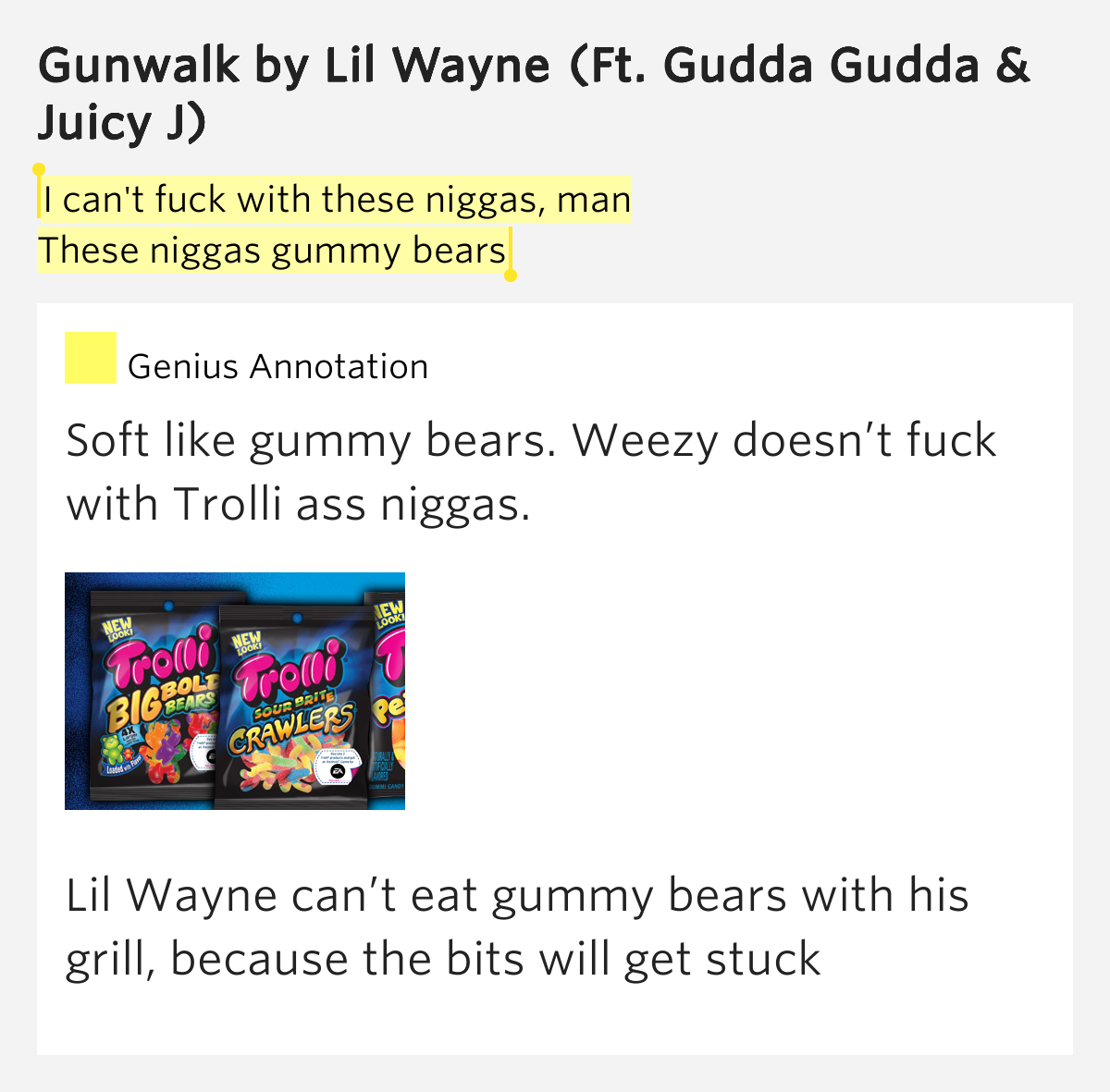 from Kase fuck a niggas thought lil wayne