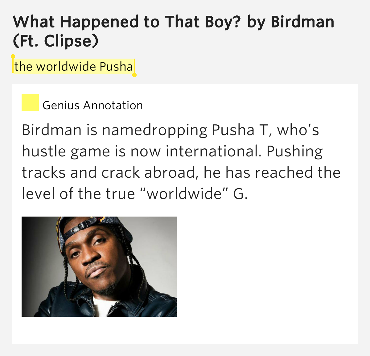 Chord Birdman Ft Clipse What Happened That Youtube Mp3 ...