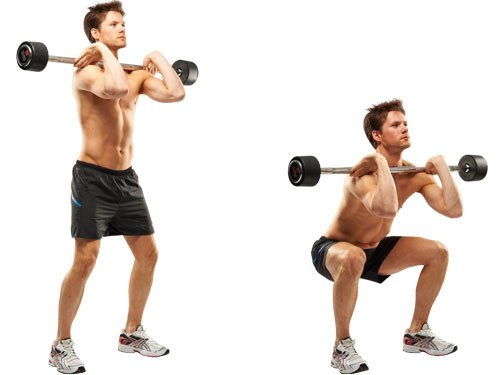 (goblet squats or back.. – Weightlifting vs. Kettlebell ...