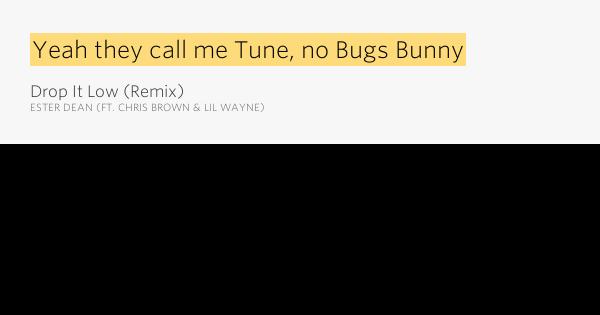 Drop it low ft lil wayne lyrics