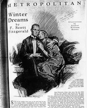 an overview of winter dreams as a love story by f scott fitzgerald The short story winter dreams by f scott fitzgerald is a prelude to his class novel the great gatsby the two share many themes, motifs, and archetypes.