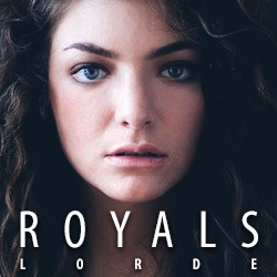 Royals is the debut song by New Zealand singer-songwriter Lorde from