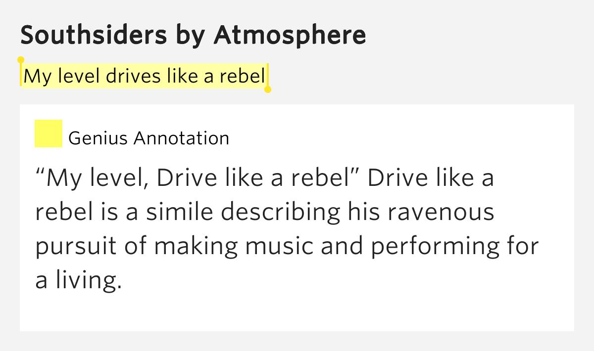 Atmosphere Lyrics Meaning