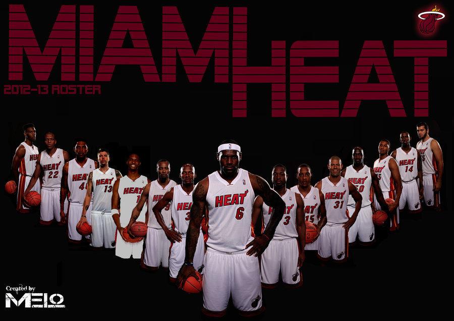 Miami Heat – 2012-2013 Roster