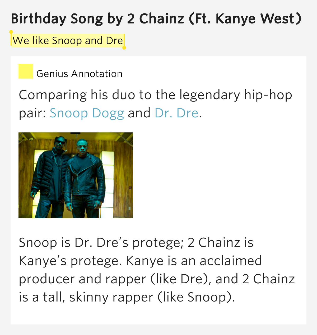 Birthday Song By 2 Chainz