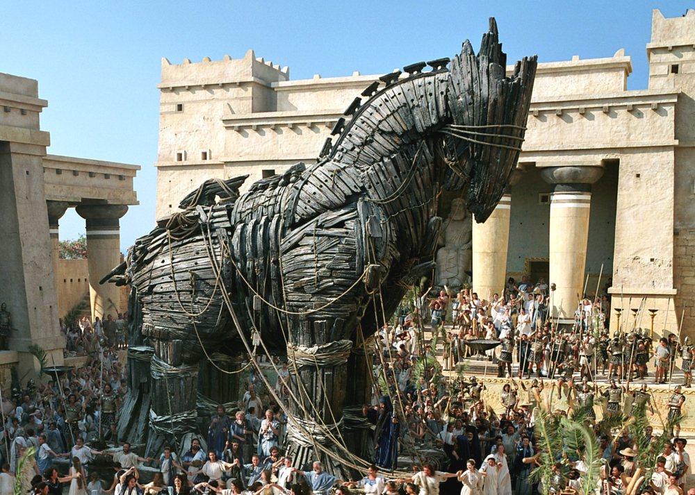 Odysseus Trojanisches Pferd