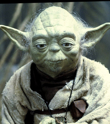 of Jedi Master Yoda  May The Force Be With You Yoda Gif