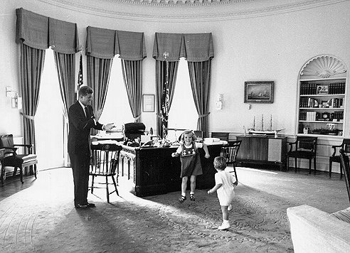 oval room at the white president john f kennedy