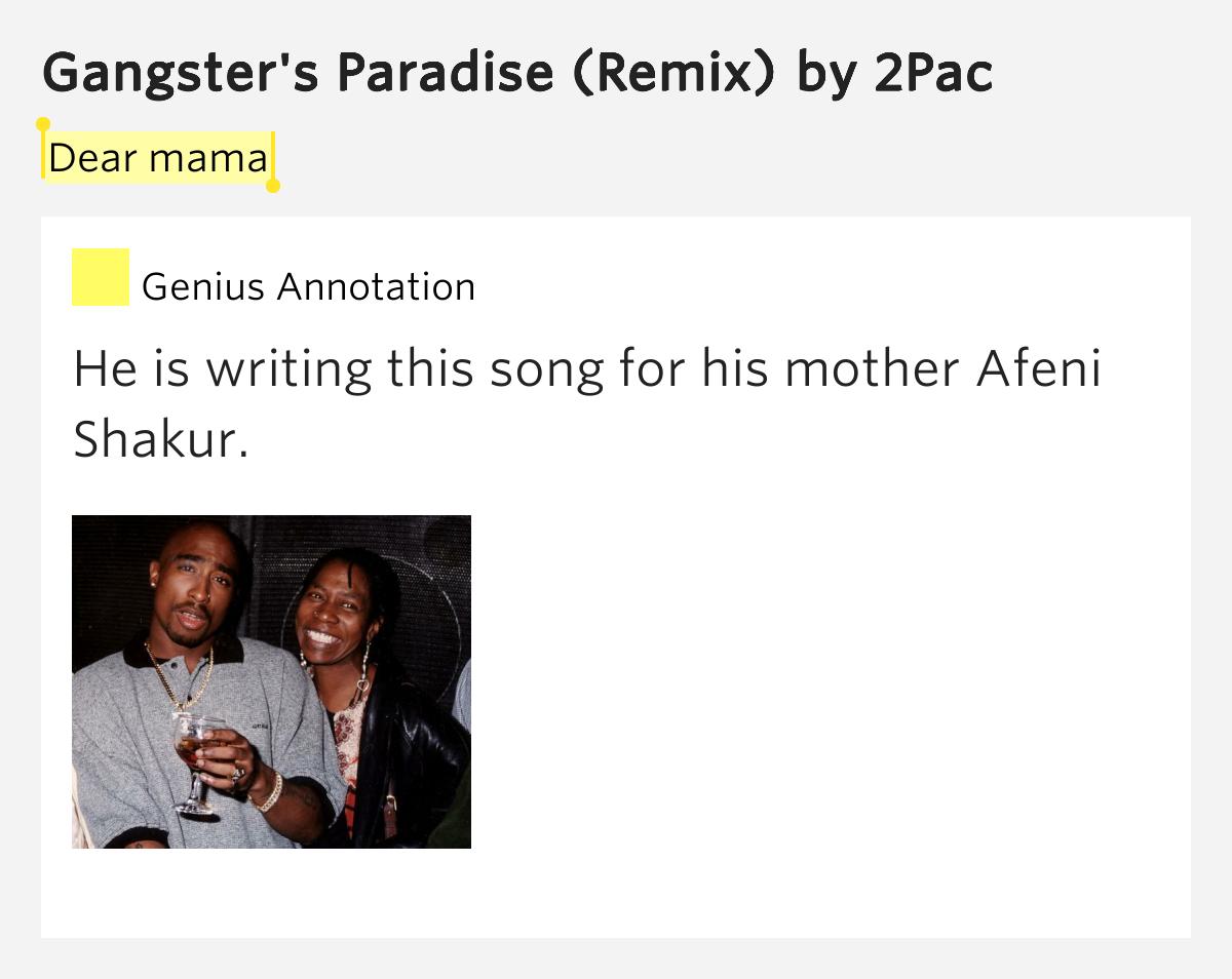 Coolio – Gangsta's Paradise Lyrics | Genius Lyrics