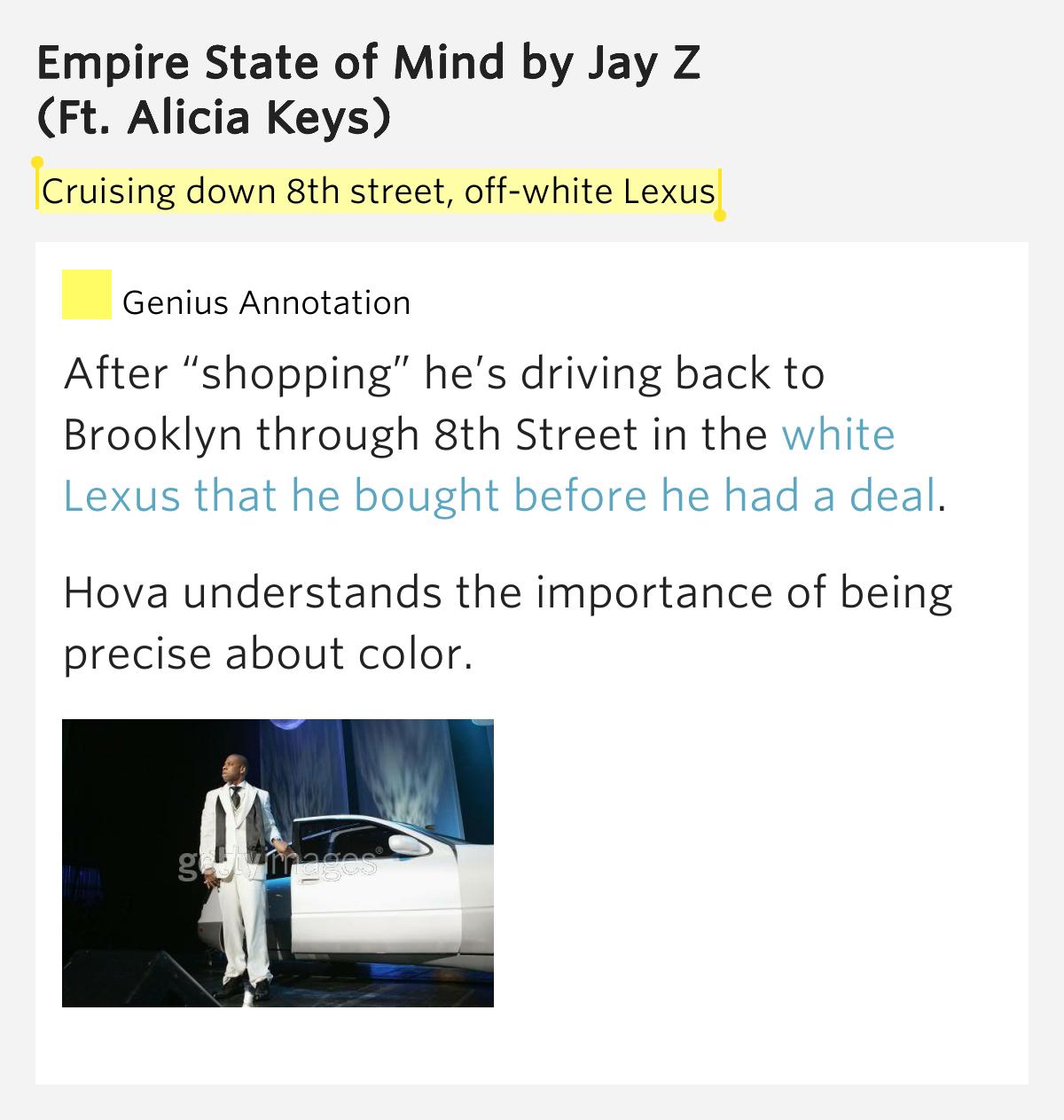 Mike Doughty - White Lexus Lyrics | MetroLyrics