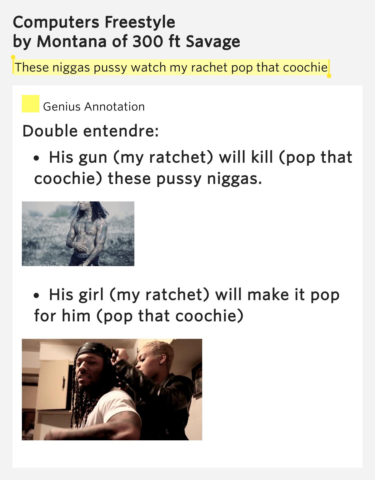 Lyrics to pop that pussy