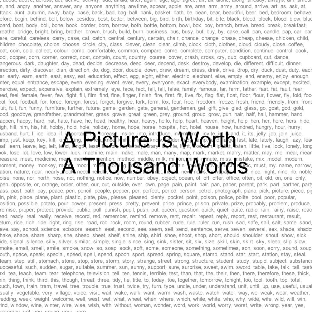 ナノ「A Thousand words」Lyrics MV EDIT ver. - YouTube